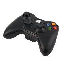 Черный Красивая 2.4 Г Беспроводной Геймпад Joypad Game Пульт дистанционного управления Джойстик С Пк Приемник Для Microsoft Для Xbox 360 Консоль