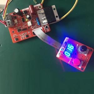 Image 2 - Codificador de doble pulsación NY D02 100A/40A, máquina de soldadura por puntos, controlador de corriente de tiempo, placa de Panel de Control, pantalla Digital ajustable