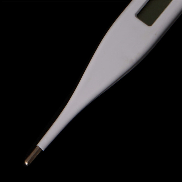 NEW 1xBaby Child Medical Digital LCD Adult Underarm Oral Body Fever Alarm Thermometer 3