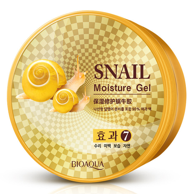 BIOAQUA Snail Essence Repair Moisturizing Gel Facial Cream Skin Care Acne Treatment Black Head Anti-Aging Face Whitening Cream