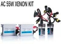 Free shipping 12V 55W hid xenon kit H1 H3 H7 H9 H11 H4 Bi xenon Hi/Low 9005 9006 D2S D2H 9012 hid kit xenon for Headlight