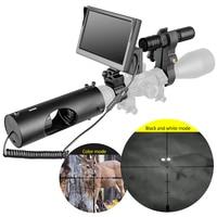 Night Vision Riflescope Hunting Scopes Optics Sight Waterproof Night Vision Device Hunting Tactical 850nm Infrared LED IR