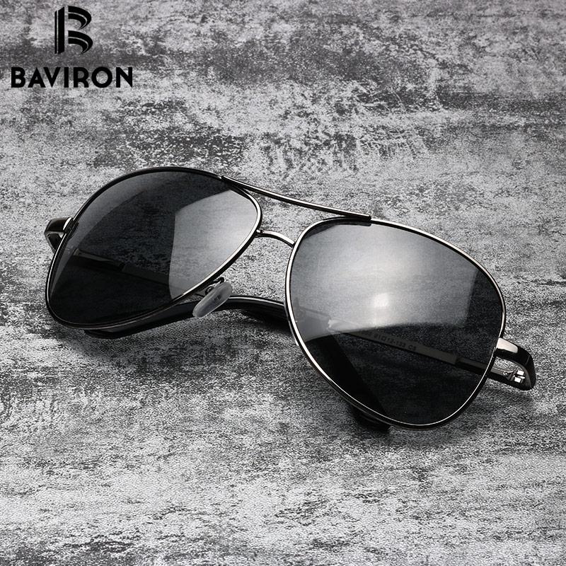 BAVIRON Aviator Sunglasses Men Polarized Sunglasses Mujeres Piloto - Accesorios para la ropa - foto 3