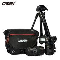 CADEN Canvas DSLR Camera Shoulder Lens Bag For Canon EOS 1100D 700D 650D 600D 550D Nikon