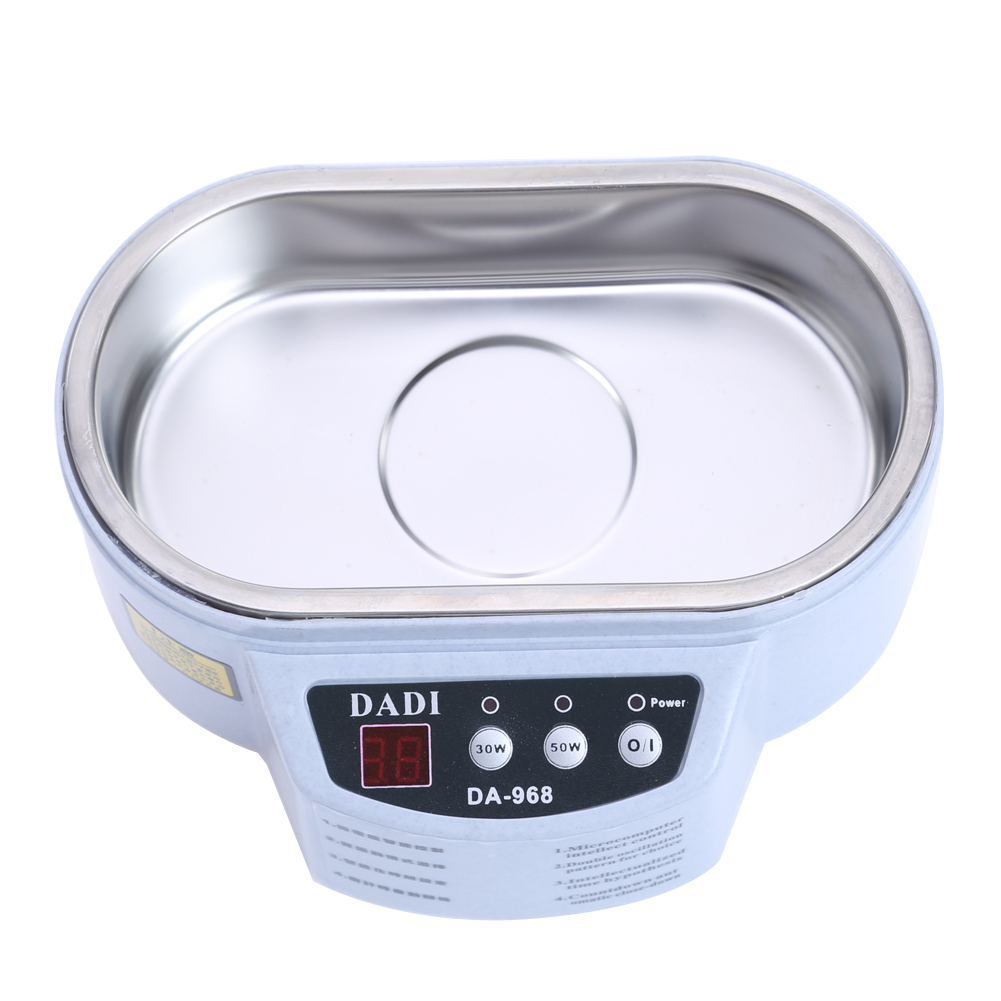 Universal Smart Ultrasonic Cleaner for Jewelry Glasses Circuit Board Cleaning Machine US Intelligent Control Ultrasonic Cleaner