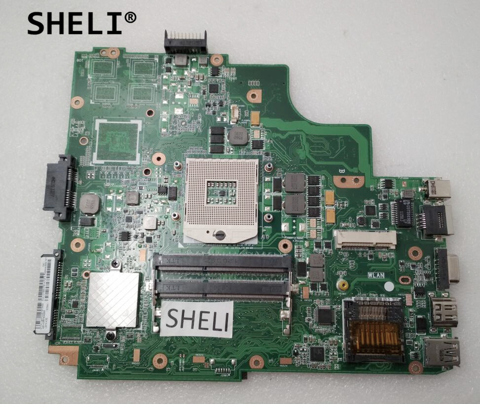 SHELI For ASUS P43E K43E K43SD Motherboard Mainboard 60-N3RMB2000 GM REV 2.2 image
