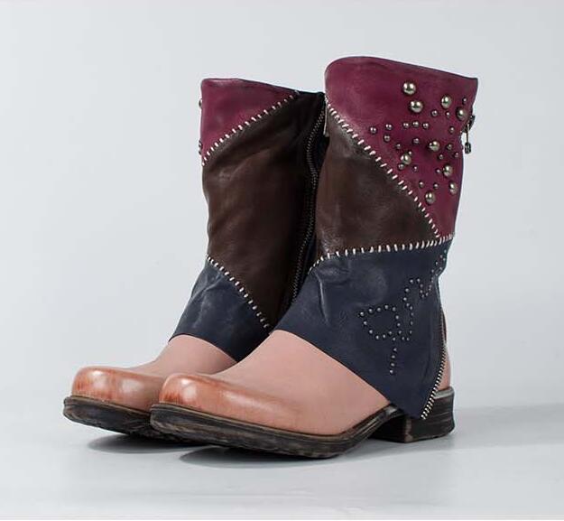 Online Get Cheap Womens Leather Combat Boots -Aliexpress.com ...