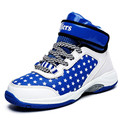 Big Kids Basketball Shoes Boys Girls Shockproof Sport Running Walking Shoes Blue Teenage Sneakers Chaussure Basket Enfant Garcon