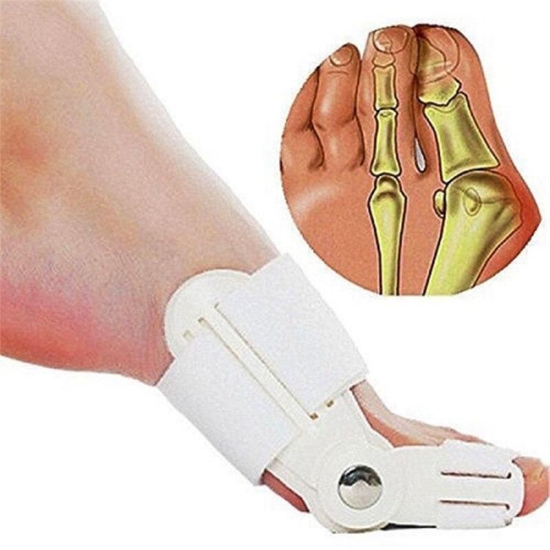 Dispositivo de joanete, corretor de joanete hálux valgo ortopédico, corretor de dedos do pé para noite e cuidados com os pés, ferramentas diárias e grandes