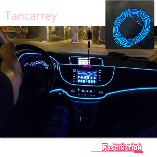 Online Shop NEW Car Interior Atmosphere Lights For Opel Astra H J G ...