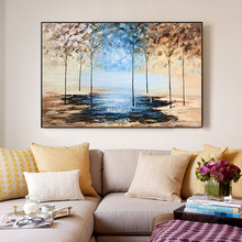 Hand painted Canvas Oil painting Wall Pictures for Living room wall decor art canvas painting palette knife landscape 50 hand painted canvas oil painting wall pictures for living room wall decor art canvas painting palette knife landscape 50