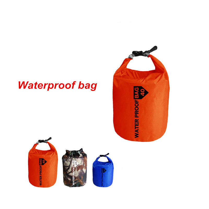 Storage Dry Bag For Canoe Kayak Rafting Sports Camping Equipment Travel Kit Many Colors Portable 10L 20L Waterproof Outdoor Bag