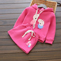 Autumn Fashion Girls Dress Set Toddler Cute Cartoon Pink Pig Tracksuit Kids Long Sleeve Hooded T-shirt Dress Outerwear 81454