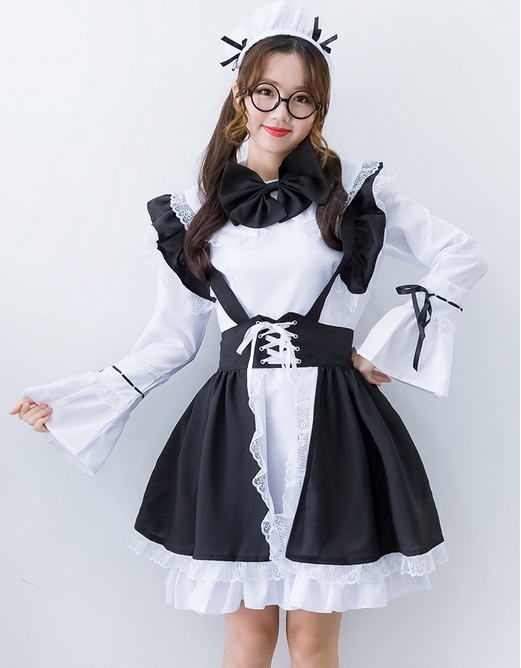 Black And White Servant Women Cosplay Party Fancy Dress 2016 New Short Sleeve Y French Maid Costumes In From Novelty Special