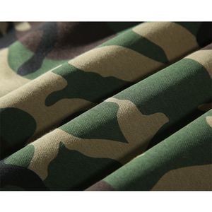 Image 3 - Army Green Camouflage Hoodies 2019 Winter Mens Camo Fleece Pullover Hooded Sweatshirts Hip Hop Swag Cotton Streetwear
