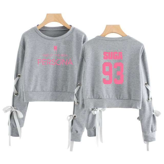 BTS MAP OF THE SOUL PERSONA OPENWORK BOW-KNOT LONG SLEEVE (34 VARIAN)