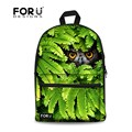 Mysterious animals owl printing backpack laptop men children back to school bags for teenage boys sac a dos bagpack mochilas bag