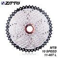 ZTTO 11-46T 10 скоростей 10s широкое соотношение MTB горный велосипед велосипедные кассетные звездочки для деталей m590 m6000 m610 m780 X7 X9