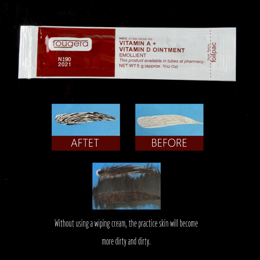 20Pcs/lot Microblading Aftercare Cream Lotion Anti Scar Vitamin Ointment For Tattoo Body Art Permanent Makeup Tattoo Supplies image