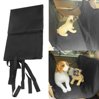 Waterproof Cat Pet Dog Car Seat Cover Protector Rear Bench Blanket E5M1