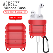 !ACCEZZ Silicone Bluetooth Wireless Earphone Case For Apple AirPod Drop Protective Cover Charging Headsets Cases Airpods Box