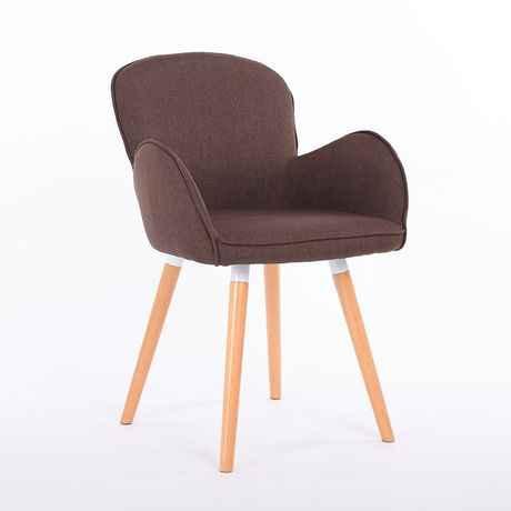 Стулья для кафе мебель из массива дерева + хлопок ткань кофе стул обеденный кресло-шезлонг минималистский современный кресло 55*40*80 см