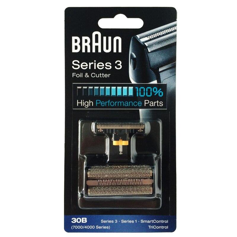 Braun 30B Folie & Cutter Ersatz für 7000/4000 Serie Rasierer (Alte 310...