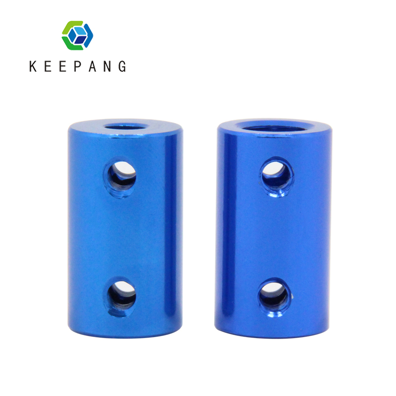 Blue Aluminum Alloy Coupling Bore 5mm 8mm 3D Printers Parts Flexible Shaft Coupler Screw Part For Stepper Motor Accessories