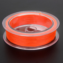 50M/54.7Yards 1Pc Fly Fishing Line Braided Wire Fly Fishing Backing Line 20LB Fishing Equipment Fishing Tackle Tool 3 Colors