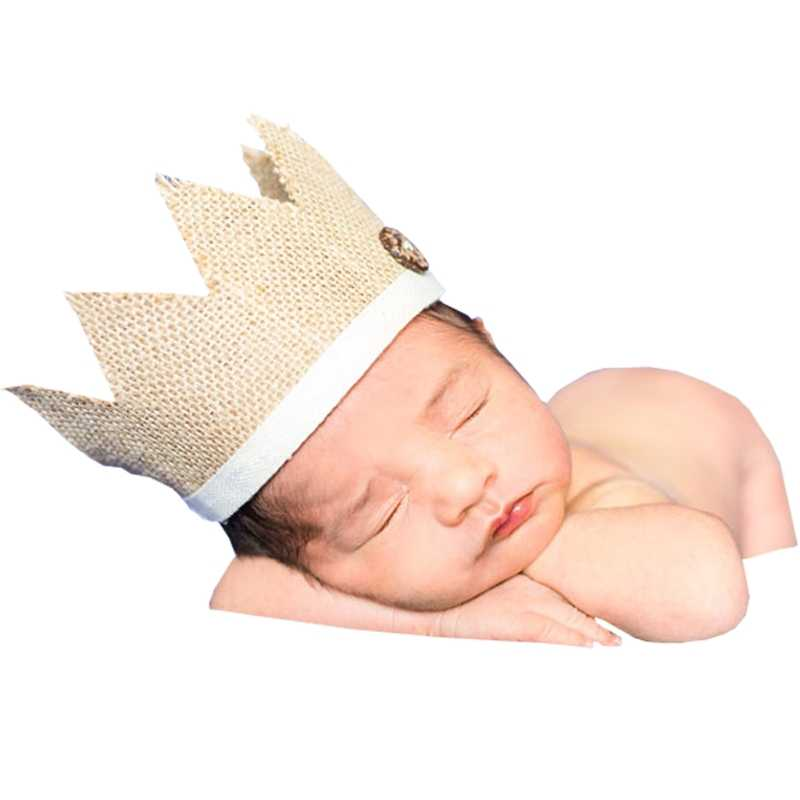 Accesorios de fotografía para recién nacidos corona diadema para bebé accesorios de fotografía sombreros gorras