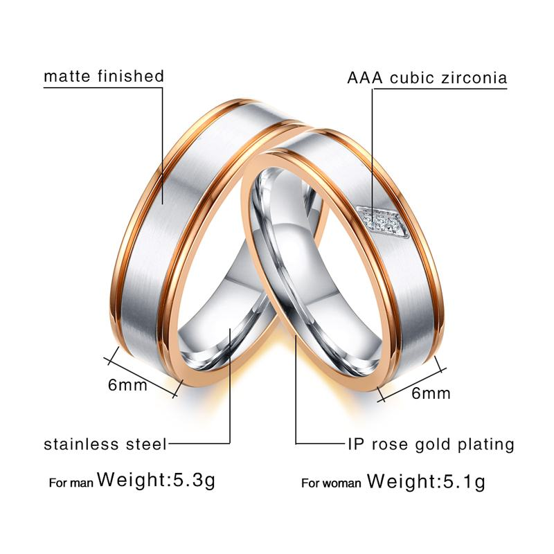 Fashion Thumb Ring Clear CZ Classic New 316L Stainless Steel Band Sizes 6-12