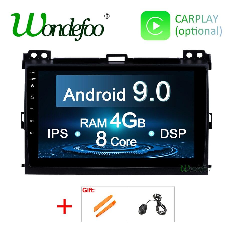 IPS DSP Android 9 0 GPS Multimedia screen for Toyota LAND CRUISER Prado 120 Lexus GX470
