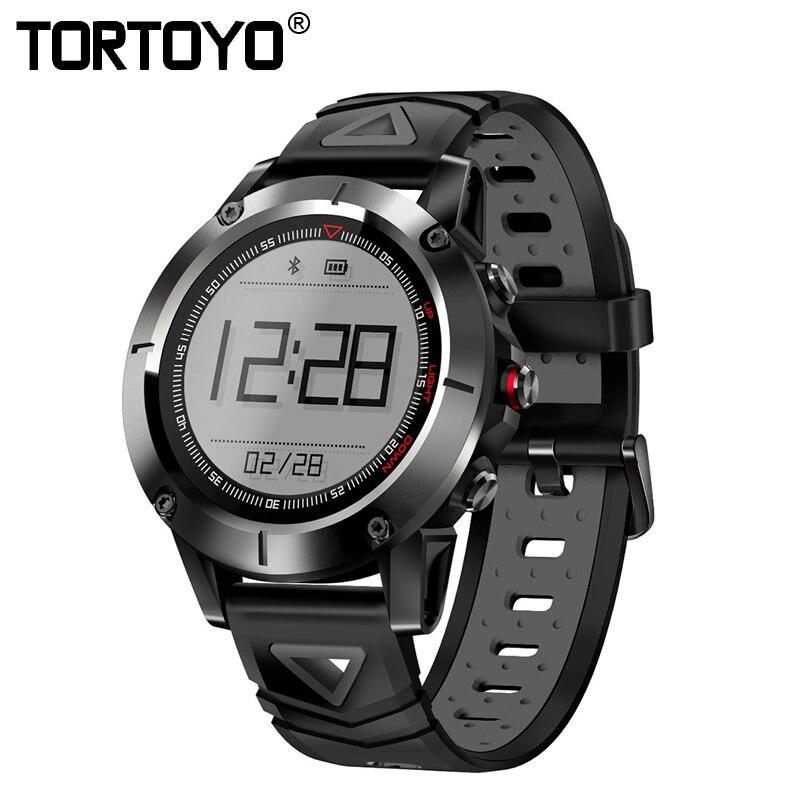 TORTOYO GPS Smart Watch G01 Professional IP68 Waterproof Swimming Smartwatch Blood Pressure Wristwatch Sports Compass Bluetooth