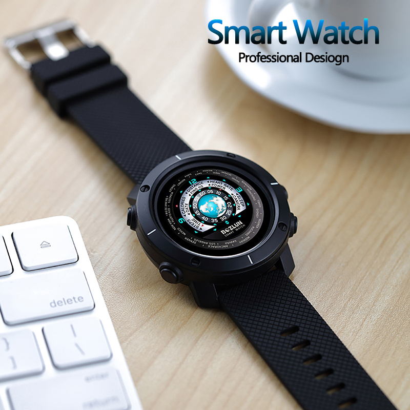 RollsTim Smart Watch Waterproof IOS Android Bluetooth Heart Rate Monitor Fitness Tracker Remote Camera Smart Military Watch Men цена