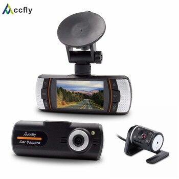 Accfly Car DVRs DVR dash cam camera dashcam dual lens car registrator Full HD 1080P 2.7 inch 140 degree Motion detection