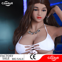 Cosdoll 155cm/160cm/165cm Real Silicone Sex Dolls Sexy Female Big Breas Sex Products for Men Masturbation Oral Anal Vagina Sex