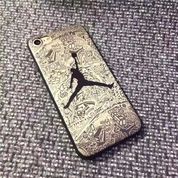 sFor iPhone 8 Plus Case iPhone XS Jordan Phone Case For iPhone 6 6s 7 Plus iPhone X XR XS Max  Matte Soft TPU Silicone Cover 6