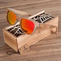 BOBO BIRD AG021 Brand Design Unique Cork Wooden Sunglasses Men Women Luxury Variation Retro Eyewear Polarized Sunglasses As Gift