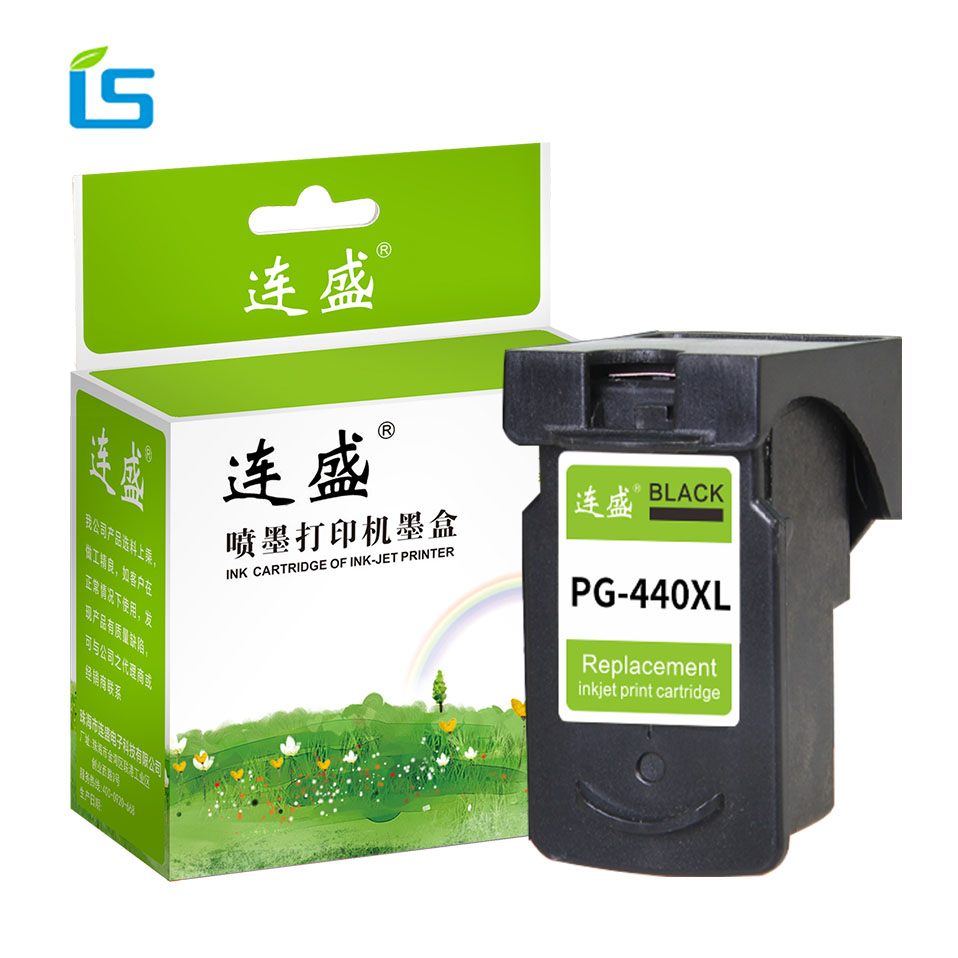 1Pcs PG440 Remanufactured ink cartridge replacement for <font><b>Canon</b></font> PG 440 <font><b>440XL</b></font> Black For Pixma MG2180 3180 4180 4280 MX438 518 378 image