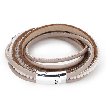 Bracelet showcasing the sturdy leather for store