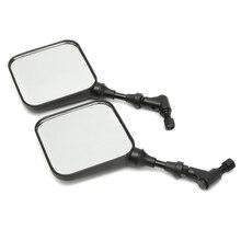 2 шт. мотоцикл зеркало заднего вида черный для Suzuki Dr 200 250 Dr350 Drz 400 Dr650