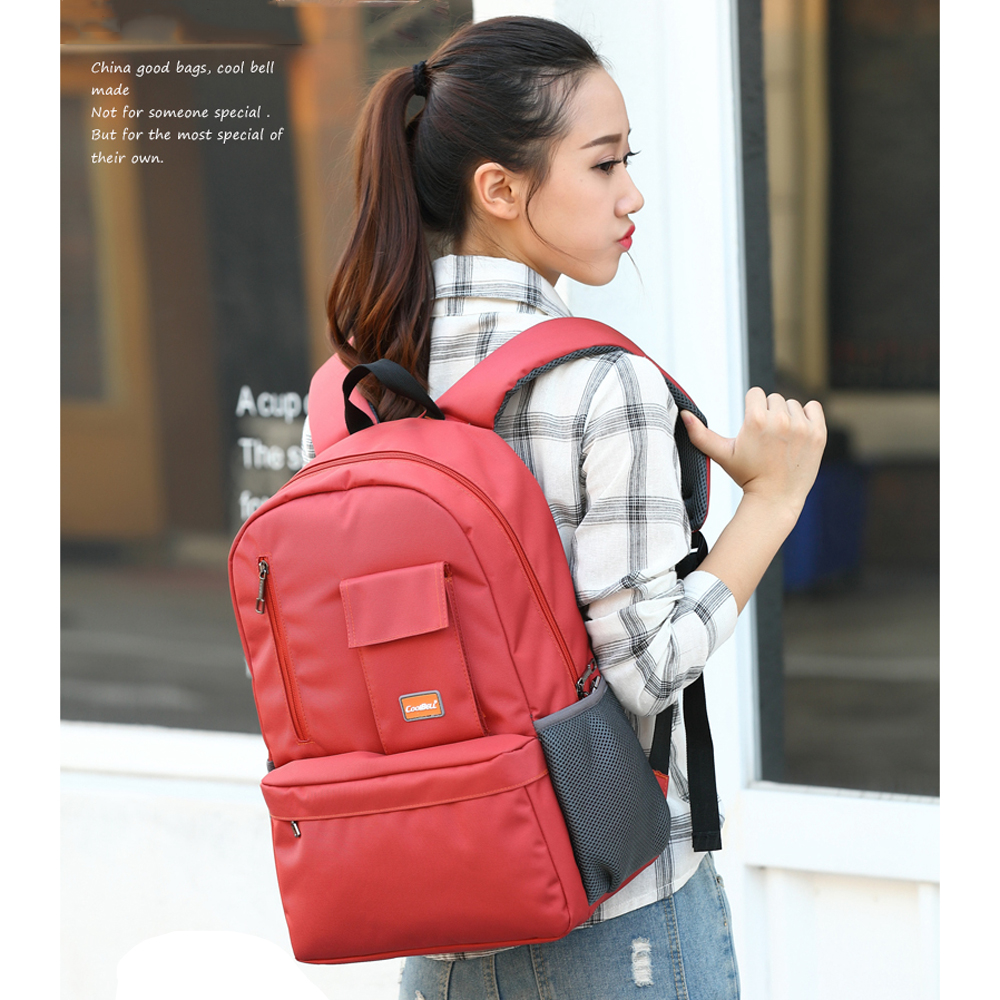 Female Student School Backpack Schoolbag Waterproof Nylon Backpacks For Girls Teenagers Urban Laptop Backpack for Notebook 15