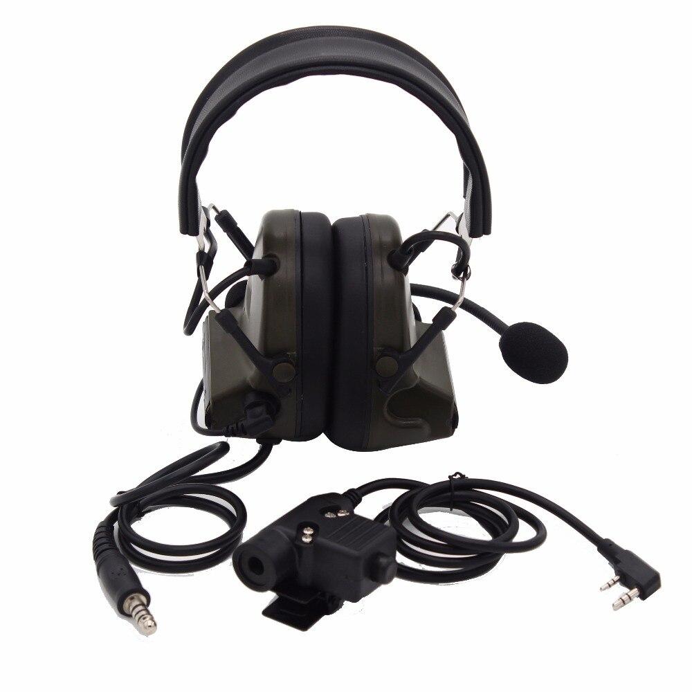 bilder für Z Taktische H50 Jagd Schießen Spiel Erweiterte Kopfhörer Ohrhörer mit u94 stil ptt für baofeng radio uv-5r gt-3 uv-82 bf-f8 UV-B5