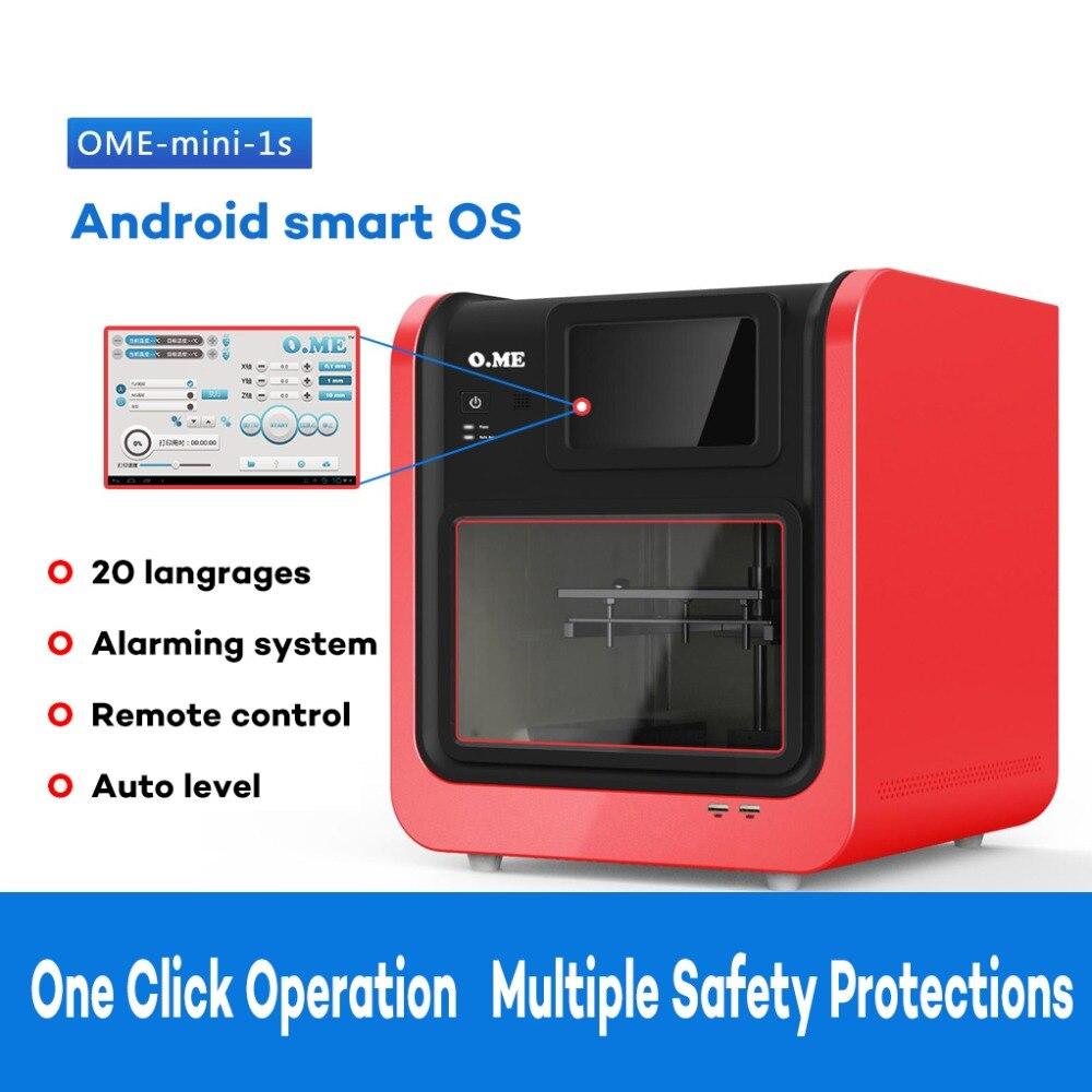 HE3D Intelligente Ome 3D imprimante télécommande lecture vidéo plate-forme de Cloud d'interconnexion système d'alarme Android système simple