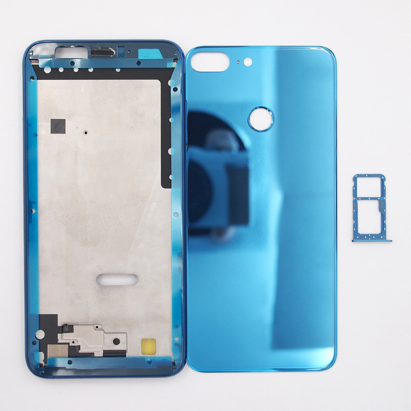 For Huawei Honor 9 Lite Front Frame Glass Battery Cover Back Cover Housing Case With SIM Card Tray-in Phone Pouches from Cellphones & Telecommunications on AliExpress - 11.11_Double 11_Singles' Day 1