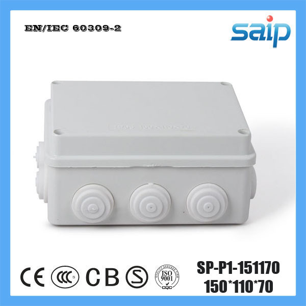 Free Shipping ABS Material Customize Junction Box With 10 Holes SP P1 151170 150 110 70