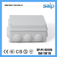 Free Shipping ABS Material Customize Junction Box With 10 Holes SP-P1-151170 150*110*70