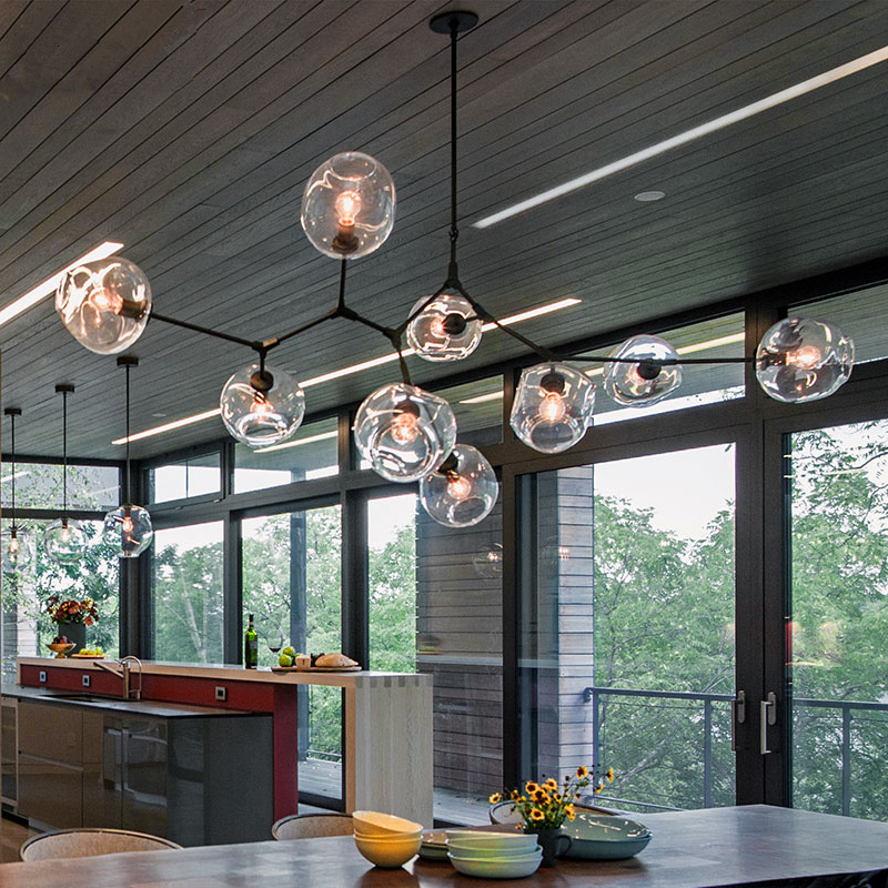 Luxury Glass Bubble Chandelier Lighting Modern Classic Chandelier Dining  Room Light Fixture Glass Chandelier Pendentes Lustres In Pendant Lights  From Lights ...