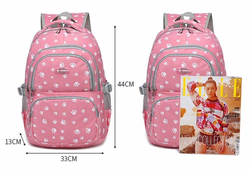 Fashion kids book bag breathable backpacks children school bags women leisure travel shoulder backpack mochila escolar infantil 13