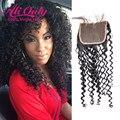 7a peruano encerramento cabelo virgem fechamento crespo crespo cabelo humano lace closure alionly kinky curly virgem cabelo peruano fechamento